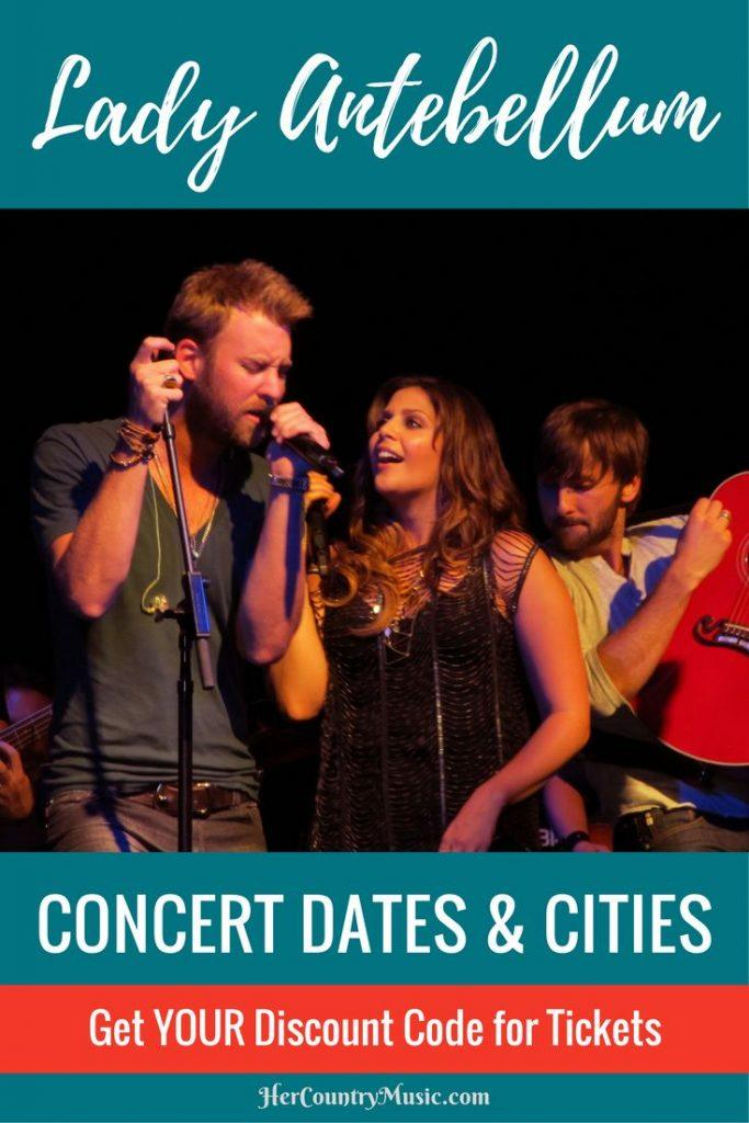 Lady Antebellum Tour Dates at HerCountryMusic