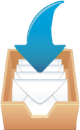 Email with arrow