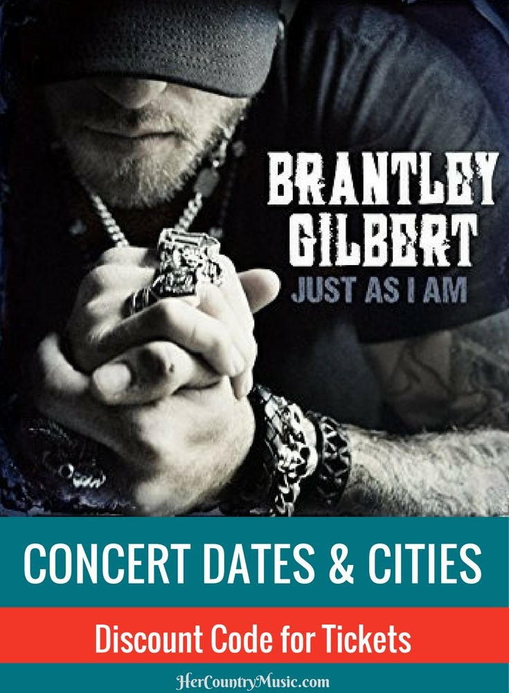 Brantley Gilbert Tour Dates at HerCountryMusic