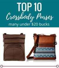 TOP TEN Crossbody Purses