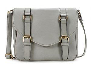 Grey Crossbody Purse