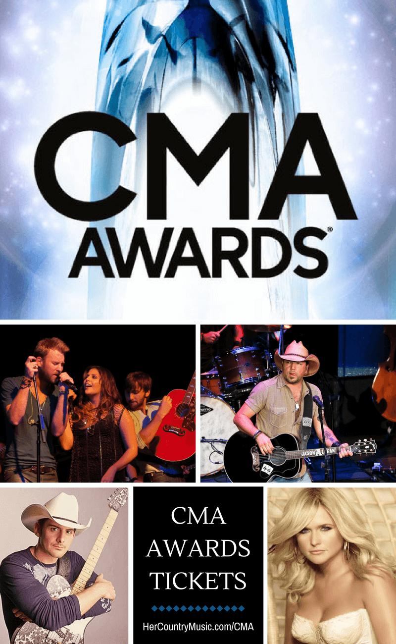 CMA Awards Tickets at https://HerCountryMusic.com/cma