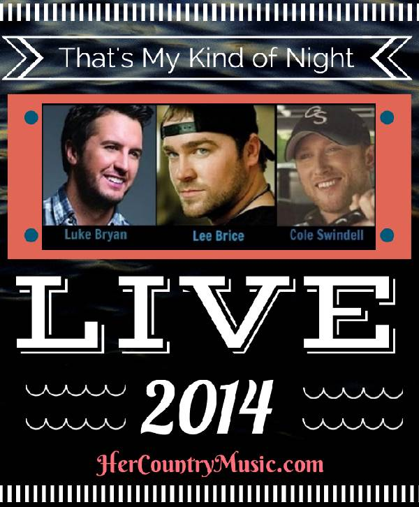 That's My Kind of Night Tour 2014