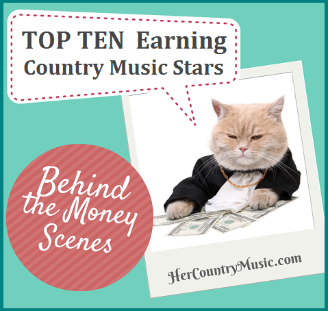 top ten paying country events graphic