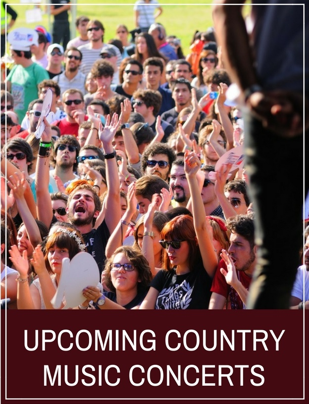 Upcoming Country Music Concerts
