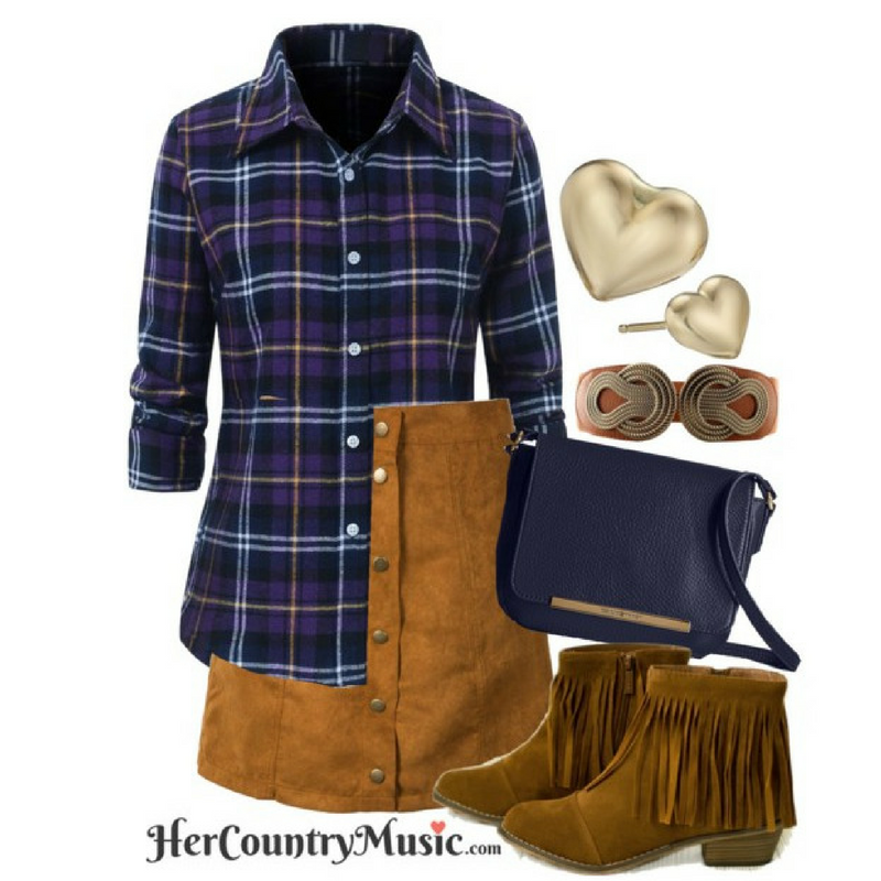 Country Outfit Fall Trend Fall Shop the look at HerCountryMusic.com