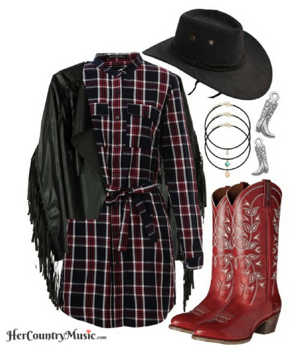 Country Outfit Western Look at HerCountryMusic.com