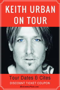 Keith Urban Tour Dates, Cities, Tickets at HerCountryMusic.com Get up-to-date Keith Urban concert news!