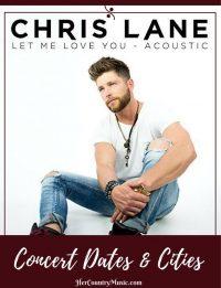 Chris Lane Tour Dates at HerCountryMusic