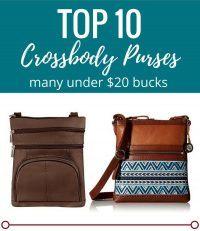 TOP TEN Crossbody Purses