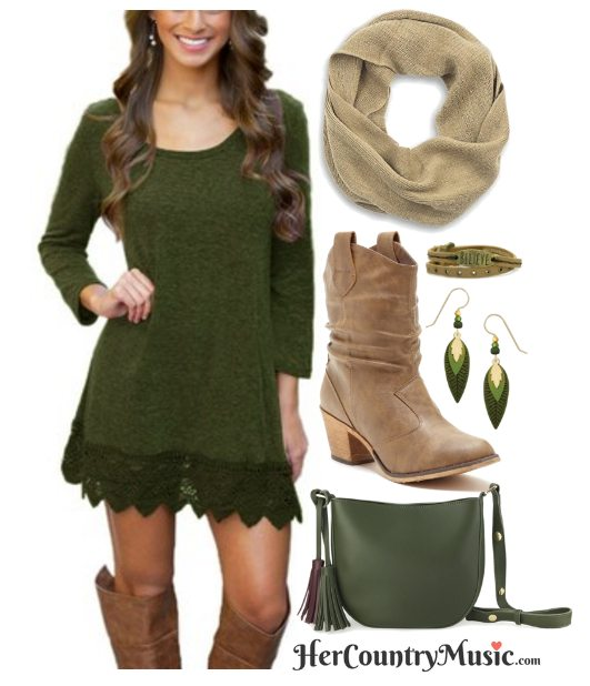 Country Outfit Charming Lace