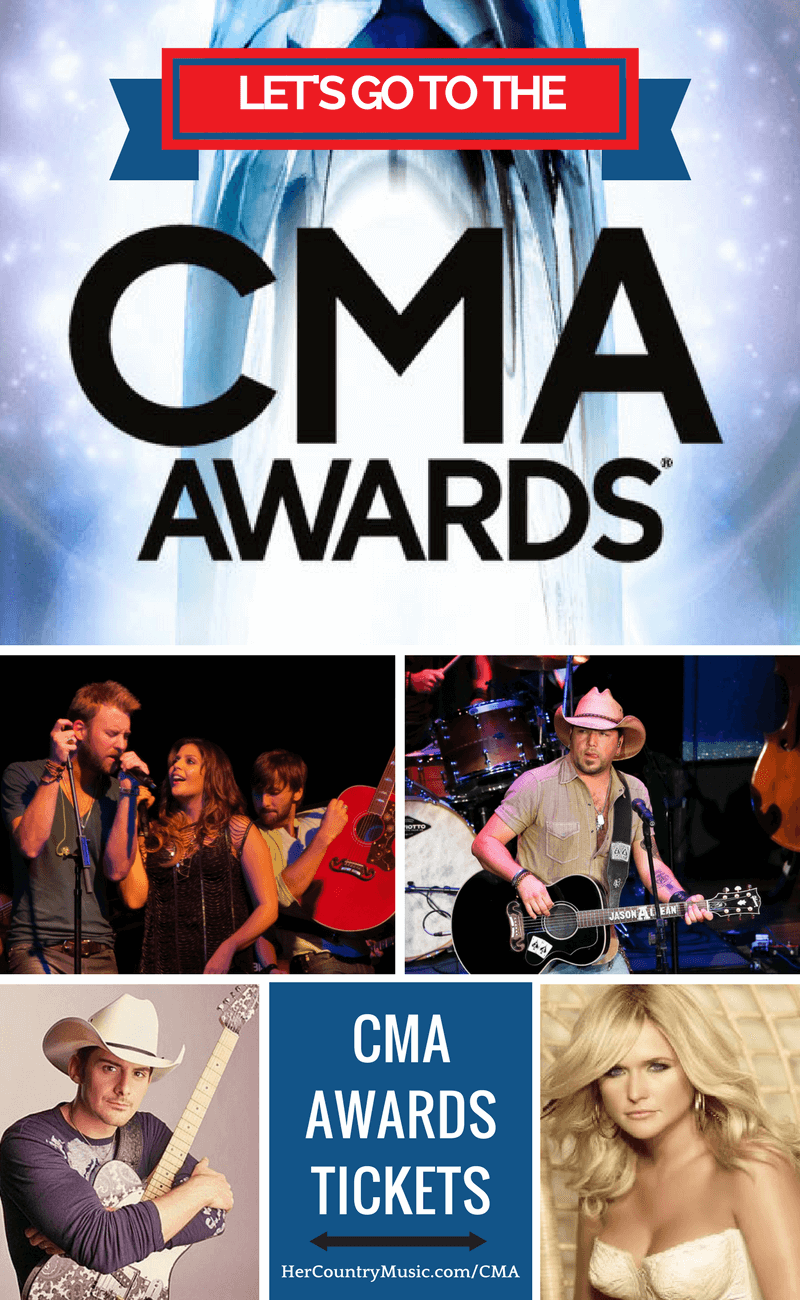 CMA Awards Tickets at https://HerCountryMusic.com/cma