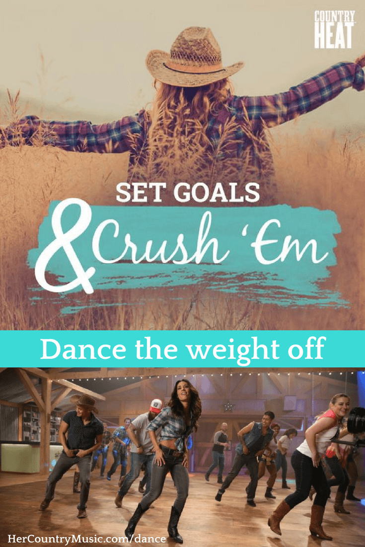 Country Heat Set Weightlose Goals and Crush Them at https://HerCountryMusic.com/dance
